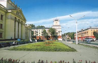 Самые популярные места Foursquare в Новокузнецке